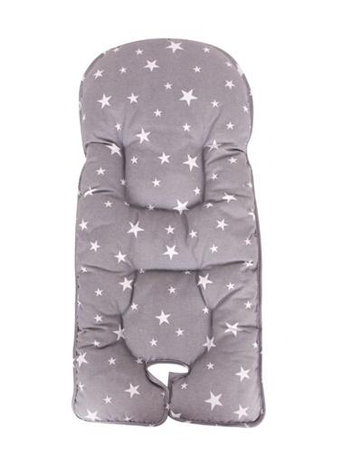 Sevi Bebe Mama Sandalyesi Minderi Gri